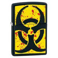 Zapalniczka ZIPPO Hazardous, Black Matte (Z24330), towar z kategorii: Zapalniczki
