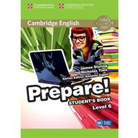 Cambridge English Prepare! Level 6 Student's Book*natychmiastowawysyłkaod3,99 (159 str.)