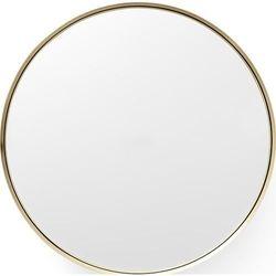 Lustro Darkly Mirror 60 cm szczotkowany mosiądz, 8012839