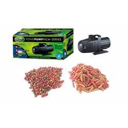 Aqua nova pompa ncm-5000 l/h tylko 40w eco oszczędna oczko wodne gratis!