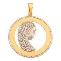 Zawieszka złota pr. 585 - 43200 marki Rodium