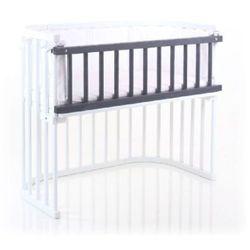 TOBI Babybay Barierka do łóżeczka dostawnego kolor szary - produkt z kategorii- Pozostałe meble do pokoju dziecięcego