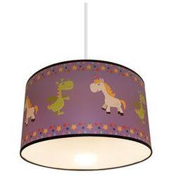 Dziecięca lampa wisząca PURPLE UNICORN 1xE27/60W/230V, kup u jednego z partnerów