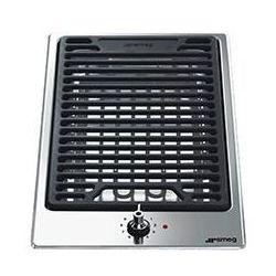 Płyta elektryczna SMEG Grill Domino PGF30B + DARMOWY TRANSPORT! z kategorii Płyty grillowe