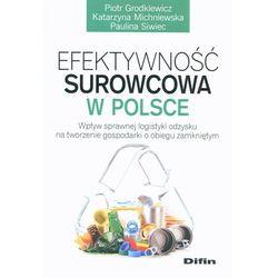 Efektywność surowcowa w Polsce - Wysyłka od 3,99 - porównuj ceny z wysyłką (ilość stron 157)