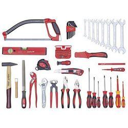 Zestaw narzędzi, BASIC, zestaw, 70-częściowy. Wyposażenie podstawowe w zakładzi