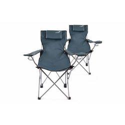 Komplet 2 x krzesło składane DIVERO niebieskie