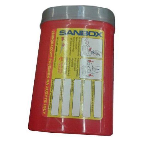 Czerwony pojemnik na zużyte igły 0,2l - oferta (0579e70091a23675)