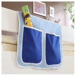 Ticaa organizer do łóżek piętrowych kolor jasno- i ciemnoniebieski marki Ticaa kindermöbel