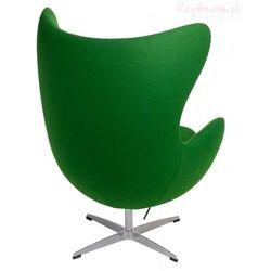 Fotel Jajo zielony kaszmir #20