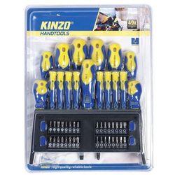 kinzo zestaw wkrętaków kinzo, 49 szt marki Kinzo