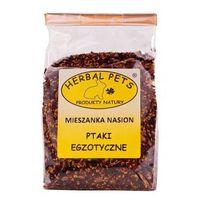 Mieszanka nasion 150g - uzupełniająca karma dla ptaków egzotycznych Herbal Pets