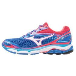 Mizuno WAVE INSPIRE 13 Obuwie do biegania Stabilność strong blue/white/diva pink (5054698243381)