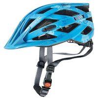 Kask rowerowy Uvex I-vo cc niebieski z kategorii Ochraniacze i kaski do sportów walki