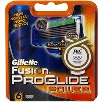 Gillette  wkłady do maszynki fusion proglide power 6 sztuk