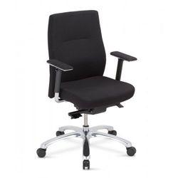 Krzesło obrotowe orlando up 24/7 r23p1 steel17 chrome - biurowe z regulacją głębokości siedziska, fotel biurowy, obrotowy marki Nowy styl