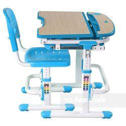 Sorriso Blue - Regulowane biurko dziecięce + krzesełko + LAMPKA LED GRATIS! Szkolna Promocja!, FunDesk