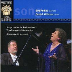 ewa podleś, garrick ohlsson - CD podleś e ohlsson g songs by chopin rachm tchaik musor szym