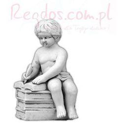 Figura ogrodowa betonowa mały uczeń 39cm