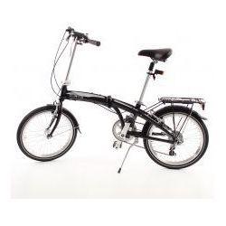 Aluminiowy rower składany SKŁADAK MIFA 7- biegów SHIMANO z bagażnikiem z kategorii Pozostałe rowery