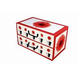 Pudełko kartonowe 2 szuflady poziome DONICZKI-GERBERY, kup u jednego z partnerów