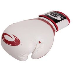 Rękawice bokserskie SPOKEY Jieitai Biało-Czerwony (10 oz)