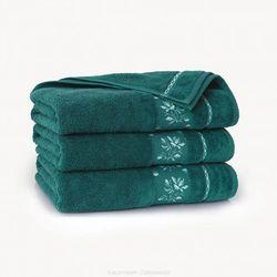 Zwoltex Ręcznik azalia 70x140 agat (ciemna zieleń)