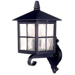 Zewnętrzna LAMPA ścienna WINCHESTER BL17 Elstead elewacyjna OPRAWA tarasowa latarenka do ogrodu outdoor IP44 czarna