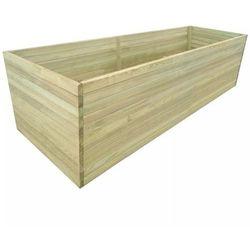 Donica ogrodowa, impregnowane drewno sosnowe, 200 x 100 x 77 cm marki Vidaxl