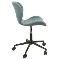 Zuiver :: krzesło biurowe omg niebieskie - niebieski
