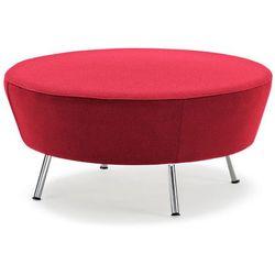 Czerwone siedzisko okrągłe modułowe Ø 900 mm - system sof modułowych - produkt z kategorii- Sofy