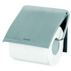 Brabantia  - uchwyt na papier toaletowy - stal matowa