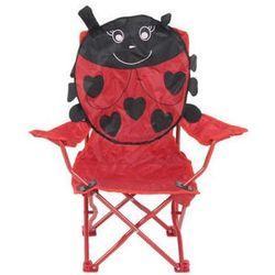 Krzesełko campingowe Czerwona Biedronka Patio ()