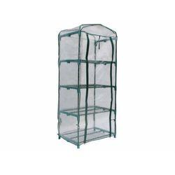 Mini szklarnia balkonowa ze stalową konstrukcją TIGRIDIA 0,35m²
