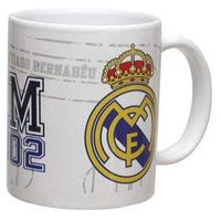Real Madryt kubek ceramiczny logo Real Madrid
