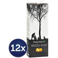 12x1l sok z brzozy o smaku cytryny litewski | darmowa dostawa od 150 zł! wyprodukowany przez Magnum
