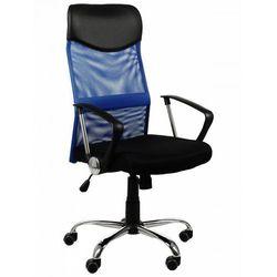 Fotel biurowy gabinetowy ZH-935/TILT/NIEBIESKI
