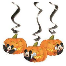 Dekoracja wisząca Halloween Myszki Mickey - 70 cm - 3 szt.