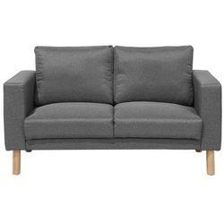 Beliani Sofa tapicerowana ciemnoszara averoy (4260602375548)