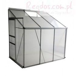 Szklarnia ogrodowa 2,3 m² - 190 x 195 x 122 cm - przydomowa z kategorii szklarnie