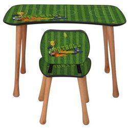 Stolik dziecięcy z krzesełkiem Piłka nożna, 90 x 52 x 60 cm, 693847