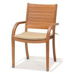 Krzesło z podłokietnikami i poduszką Catalina - produkt z kategorii- Krzesła ogrodowe