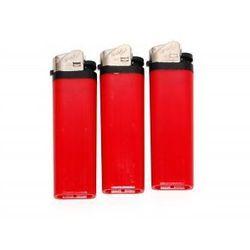 Zapalniczka Atomic 3937405 krzesiwo czerwona ()