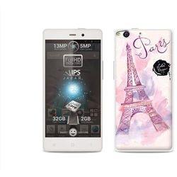Fantastic case - allview x1 soul - etui na telefon fantastic case - różowa wieża eiffla od producenta Etuo.
