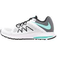Nike Performance ZOOM WINFLO 3 Obuwie do biegania treningowe white/hyper turquoise/black - produkt z kategorii