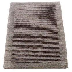 Cawo Dywanik łazienkowy  ręcznie tkany 60 x 60 cm grafitowy