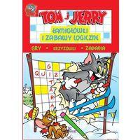 Tom i Jerry. Łamigłówki i zabawy logiczne. Czerwona + zakładka do książki GRATIS (2016)