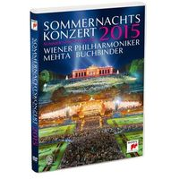 Sommernachtskonzert 2015 / Summer Night Concert 2015 (DVD) - Wiener Philharmoniker