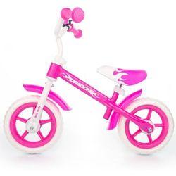 Rowerek biegowy dragon różowy #b1 wyprodukowany przez Milly-mally