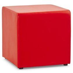 Kokoon design Pufa ekoskóra czerwona 41x41x41